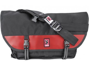 CHROME CITIZEN Messengerbag black/red