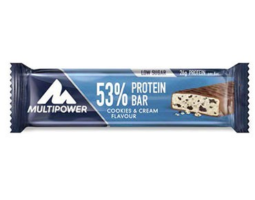 Multipower 53% Protein Bar cookies&cream
