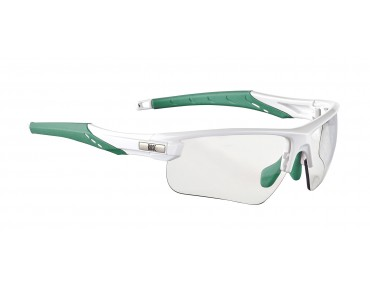 ROSE PS 07 photochromic  - occhiali fotocromatici donna shiny white-malibu / photochromic clear to grey