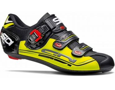 SIDI GENIUS 7 Rennradschuhe black/yellow/black