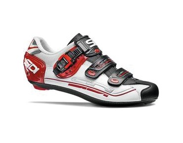 SIDI GENIUS 7 Rennradschuhe white/black/red