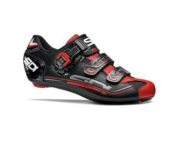 SIDI GENIUS 7 road shoes black/black/red