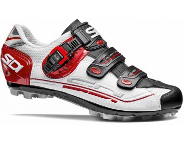 SIDI EAGLE 7 MTB Schuhe white/black/red