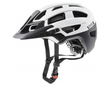 uvex finale - casco white/black mat