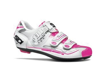 SIDI GENIUS 7 WOMAN road shoes white/pink fluo