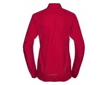 VAUDE DROP JACKET III waterproof jacket for women indian red