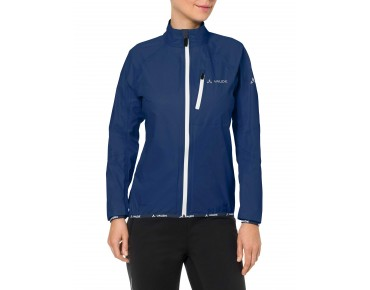 VAUDE DROP JACKET III waterproof jacket for women sailor blue