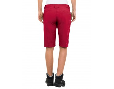VAUDE ROKUA BERMUDA II women's shorts indian red
