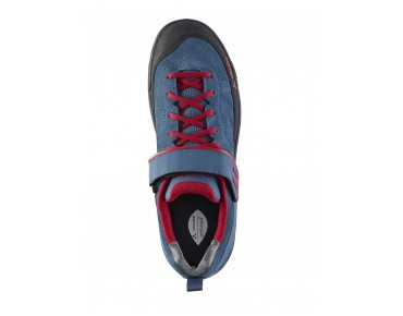 VAUDE MOAB LOW AM flat pedal shoes fjord blue