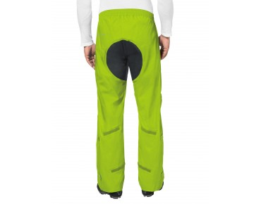 VAUDE DROP II waterproof trousers pistachio