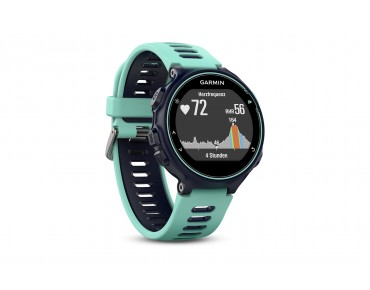 Garmin Forerunner 735XT GPS running watch midnight blue/frost blue