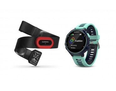 Garmin Forerunner 735XT GPS Laufuhr Run Bundle