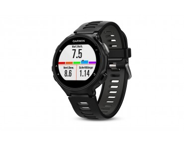 Garmin Forerunner 735XT GPS running watch Tri Bundle black/grey