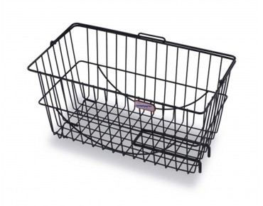 Zinsmayer 231F rear bicycle basket black