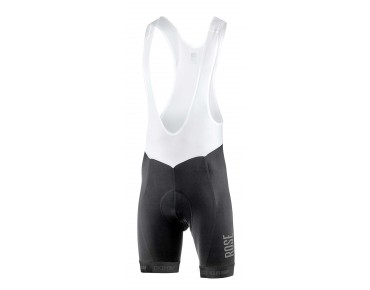 ROSE BLACK HIGH END bib shorts black/grey