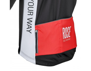 ROSE TOP CYW WIND Thermo Jacke black/white/red