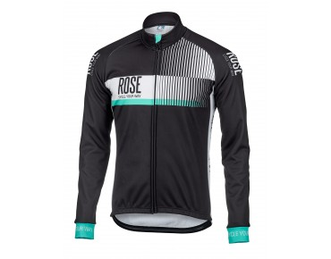 ROSE TOP CYW WIND thermal jacket black/white/malibu