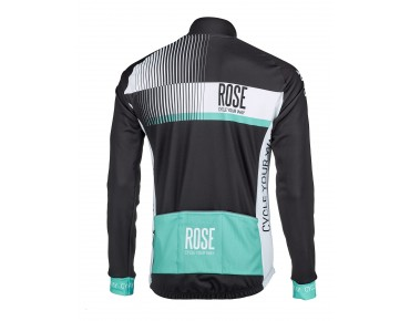 ROSE TOP CYW WIND Thermo Jacke black/white/malibu