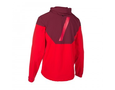 ION CARVE softshell jacket combat red