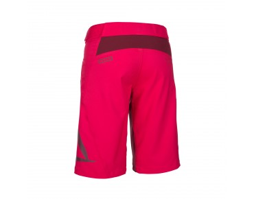 ION TRAZE_AMP women's cycling shorts sunset pink
