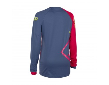 ION SCRUB_AMP long-sleeved cycling shirt for women sunset pink