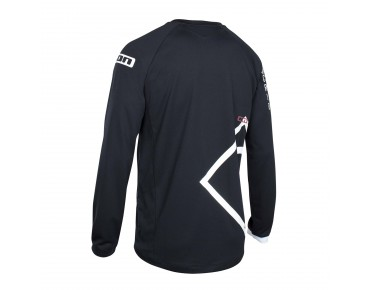 ION SCRUB_AMP long-sleeved cycling shirt black