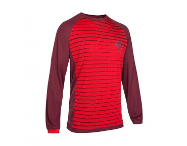 ION SCRUB_AMP long-sleeved cycling shirt combat red