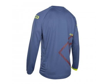 ION SCRUB_AMP long-sleeved cycling shirt dark night