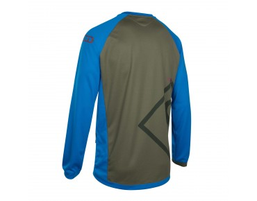 ION SCRUB_AMP long-sleeved cycling shirt stream blue
