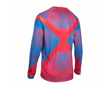 ION SLASH_AMP Langarm Bikeshirt blazing red