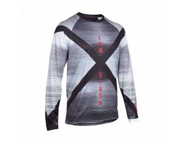 ION SLASH_AMP long-sleeved cycling shirt black