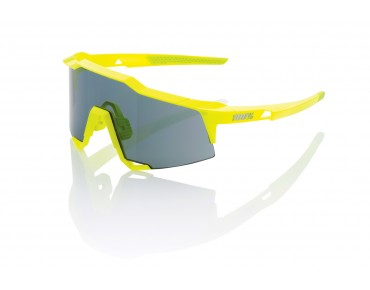 100% SPEEDCRAFT BASE STD sports glasses day-glo yellow