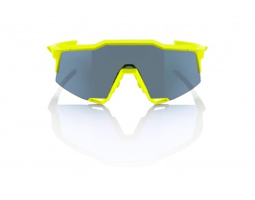 100% SPEEDCRAFT BASE STD sports glasses neon yellow
