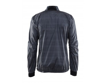 CRAFT RIDE JACKET M windbreaker gravel check/black