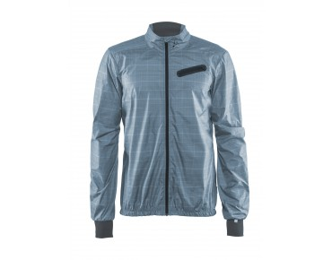 CRAFT RIDE JACKET M windbreaker sky check/black