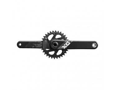SRAM X01 Eagle Boost BB30 crankset black