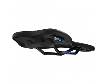 SQlab 612 Ergowave active TiTube saddle black