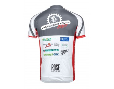 ROSE MUKO BIKE TOUR 2017 jersey black/red/white