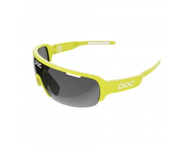 POC DO HALF BLADE sports glasses unobtanium yellow