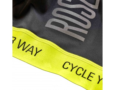 ROSE BLACK HIGH END bib shorts black/lime
