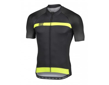 ROSE BLACK HIGH END Trikot black/lime