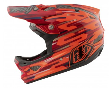 Troy Lee Designs D3 Vollvisierhelm orange
