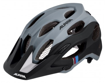 ALPINA CARAPAX MTB-Helm black/grey