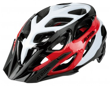ALPINA MYTHOS 3.0 MTB Helm black/white/red