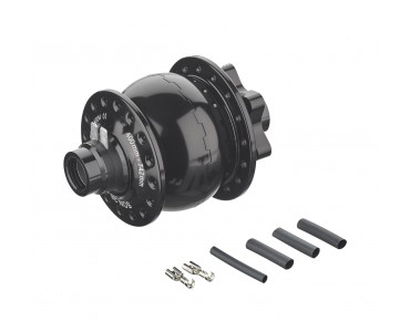 SON hub dynamo 28 for 15 mm thru axle schwarz