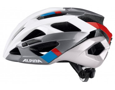ALPINA VALPAROLA RC road helmet white/darksilver/blue/red