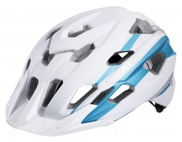 ALPINA YEDON LE Helm white/silver light blue