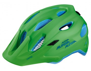 ALPINA CARAPAX JR. - casco bambino green/blue