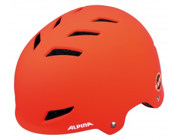 ALPINA PARK JR. kids' helmet orange