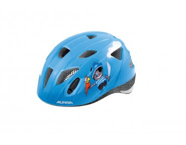 ALPINA XIMO kids' helmet pirate